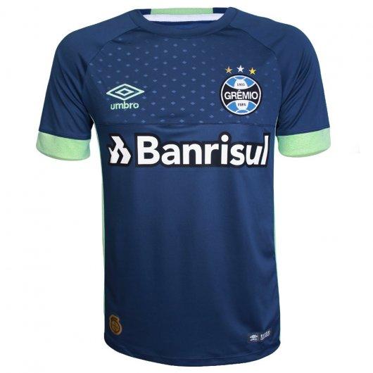 Camisa Umbro Grêmio Goleiro Of 1 2018 S/N