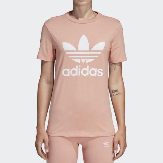 Camiseta Adidas Trefoil Feminina