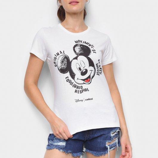 Camiseta Colcci Disney Mickey