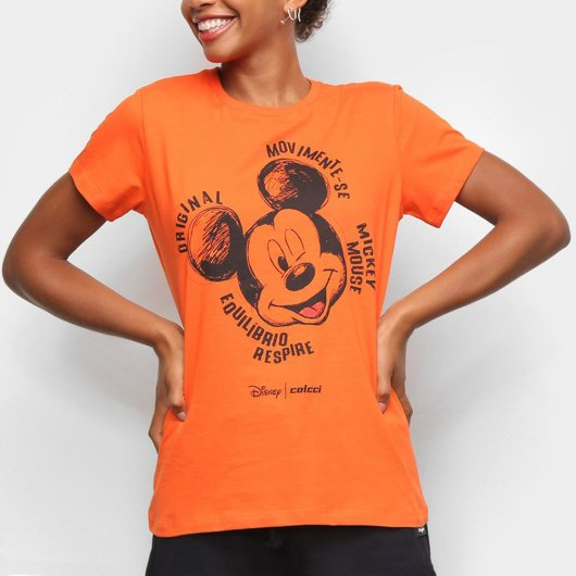 Camiseta Colcci Disney Mickey