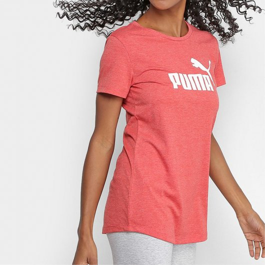Camiseta Puma Essentials Heather Tee