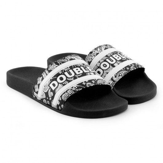 Chinelo Qix Double-G Slide Pasley
