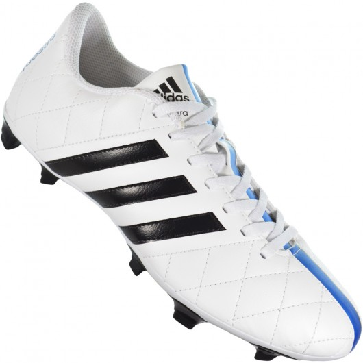 bb1d2e3444dd5 Chuteira Adidas 11Questra FG B44368 - Branco Azul - Atitude Esportes ...