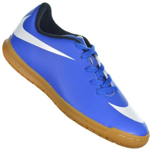 0ec0163ab1 Chuteira Nike Bravata IC 768924-410 - Azul Branco - Atitude Esportes ...