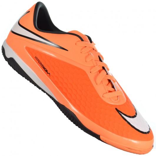 9277465296 Chuteira Nike Hypervenom Phelon IC 599849-800 - Laranja Branco ...