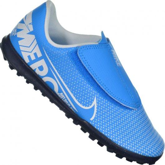 Chuteira Nike Jr. Vapor 13 Club TF - Society