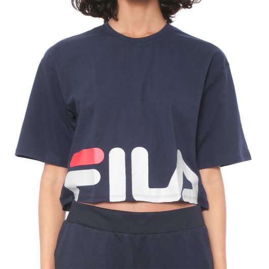 Cropped Fila Letter New