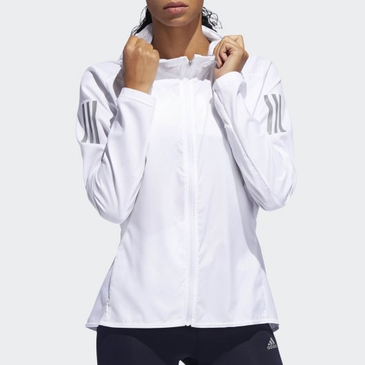 Jaqueta Corta-Vento Adidas Own The Run Feminina