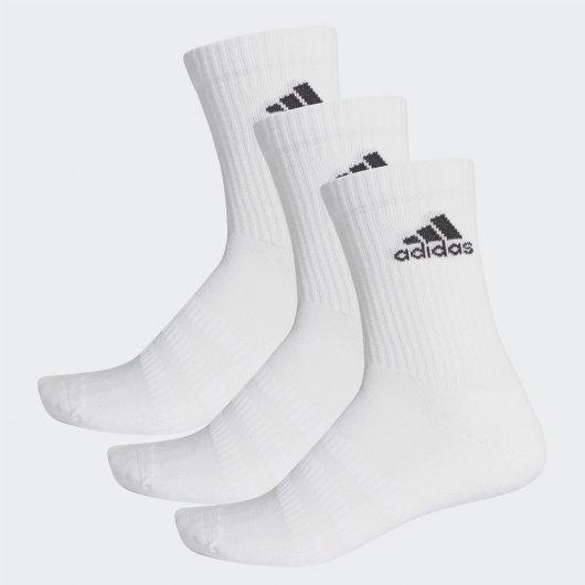 Kit de Meias Adidas Cushioned Crew