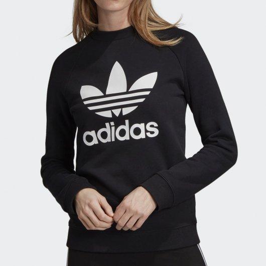 Moletom Adidas Trefoil Crewneck