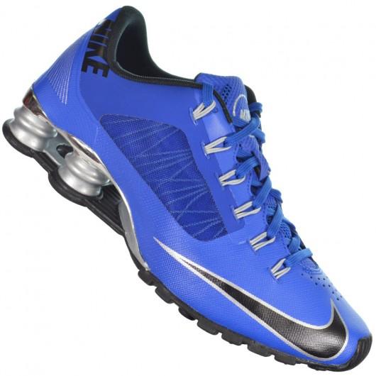 nike shox r4 azul