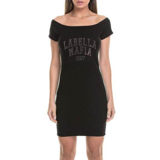 Vestido Labellamafia College Black
