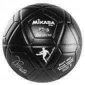 Imagem - Bola Mikasa FT - 5 All Black - Futevôlei