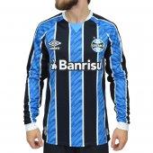 Imagem - Camisa Manga Longa Umbro Grêmio OF 1 2020