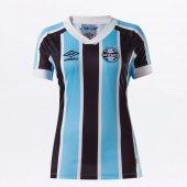 Imagem - Camisa Umbro Grêmio OF 1 2021 - Feminina