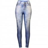 Imagem - Legging Colcci Fitness Fusô Jeans