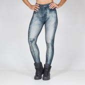 Imagem - Legging Labellamafia Stoned Blue Jeans