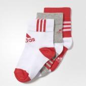 Imagem - Meia Adidas Ankle Mid Kids 3PPK