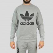 Imagem - Moletom Adidas Crew Fleece Trefoil