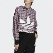 Imagem - Moletom Adidas Trefoil Cropped