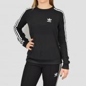 Imagem - Moletom Adidas Originals 3 Stripes Chiffon