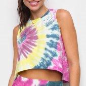 Imagem - Regata Colcci Tie Dye Espiral