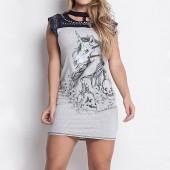 Imagem - Vestido Labellamafia Unicorn