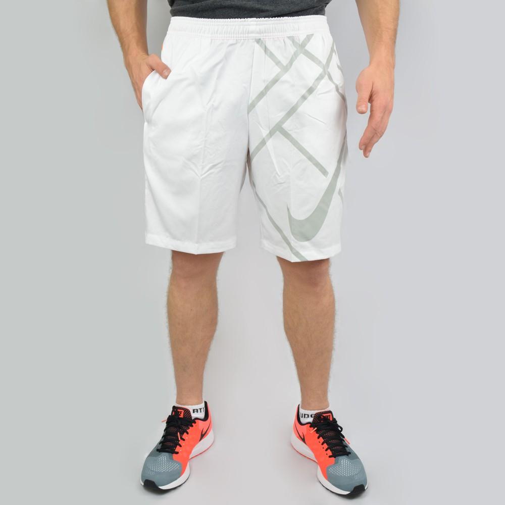 ... Bermuda Nike Court 9 645053-102 - Branco Laranja - Atitude Esportes . 46a1d7ea33b6a