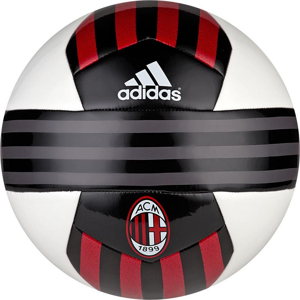 912f47df7d Bola Adidas AC Milan Training S90248 - Preto Vermelho - Atitude ...