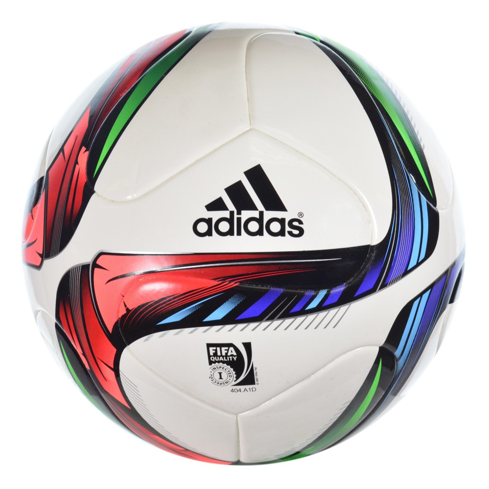 282b004226 Bola Adidas Conext 15 M36883 - Branco Preto - Atitude Esportes -As ...