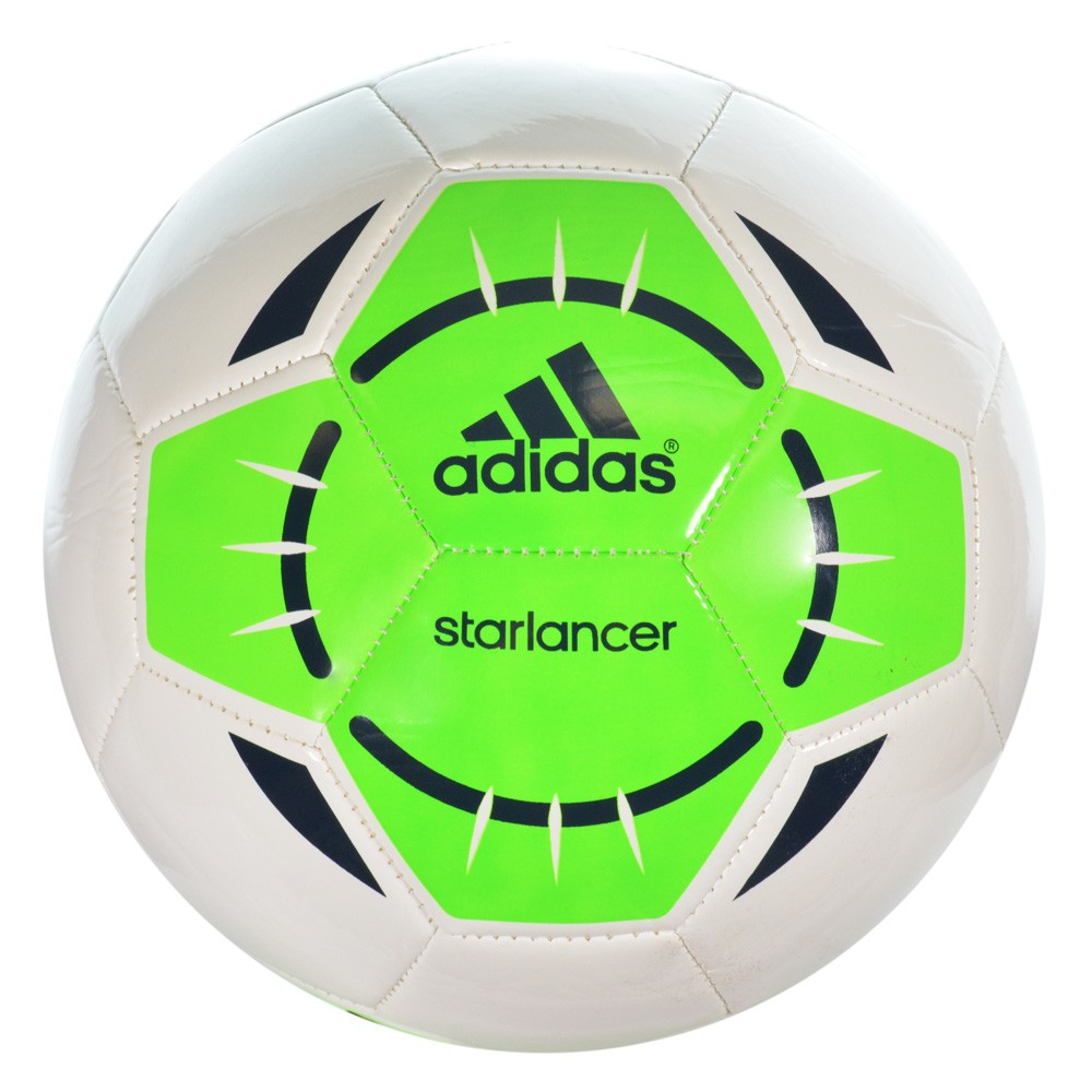 ecf434b857 Bola Adidas Starlancer IV F93743 - Branco Verde - Atitude Esportes ...