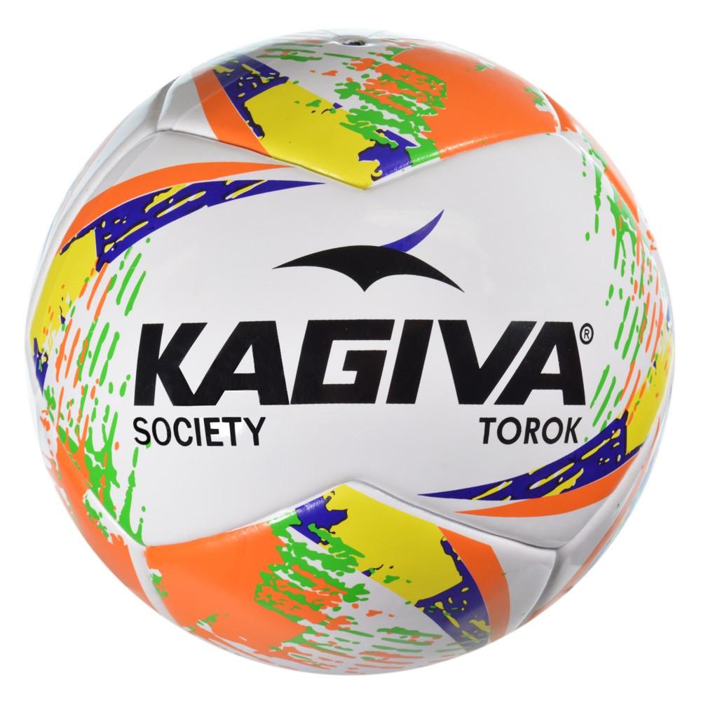 be5d715a0f Bola Kagiva Torok Society 8529 - Branco Laranja - Atitude Esportes ...