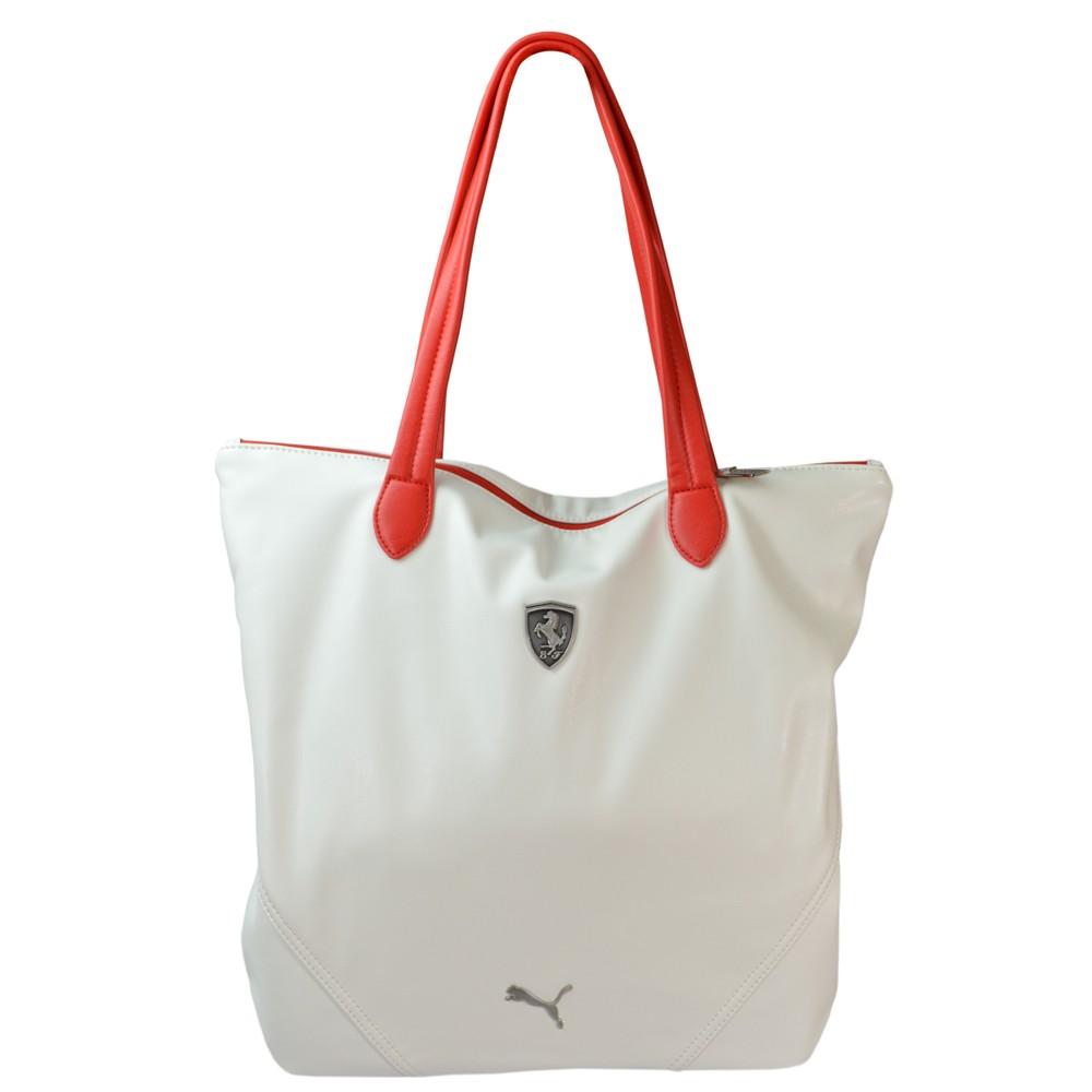 80e3224336b Bolsa Puma Ferrari LS Shopper 072245-03 - Branco - Atitude Esportes ...