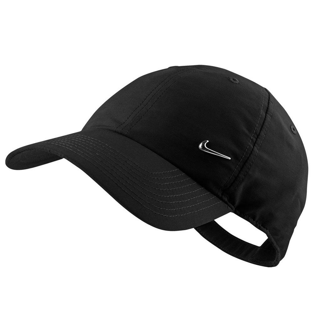 67f87361f Boné Nike 340225-010 - Metal Swoosh Cap Preto - Atitude Esportes -As ...