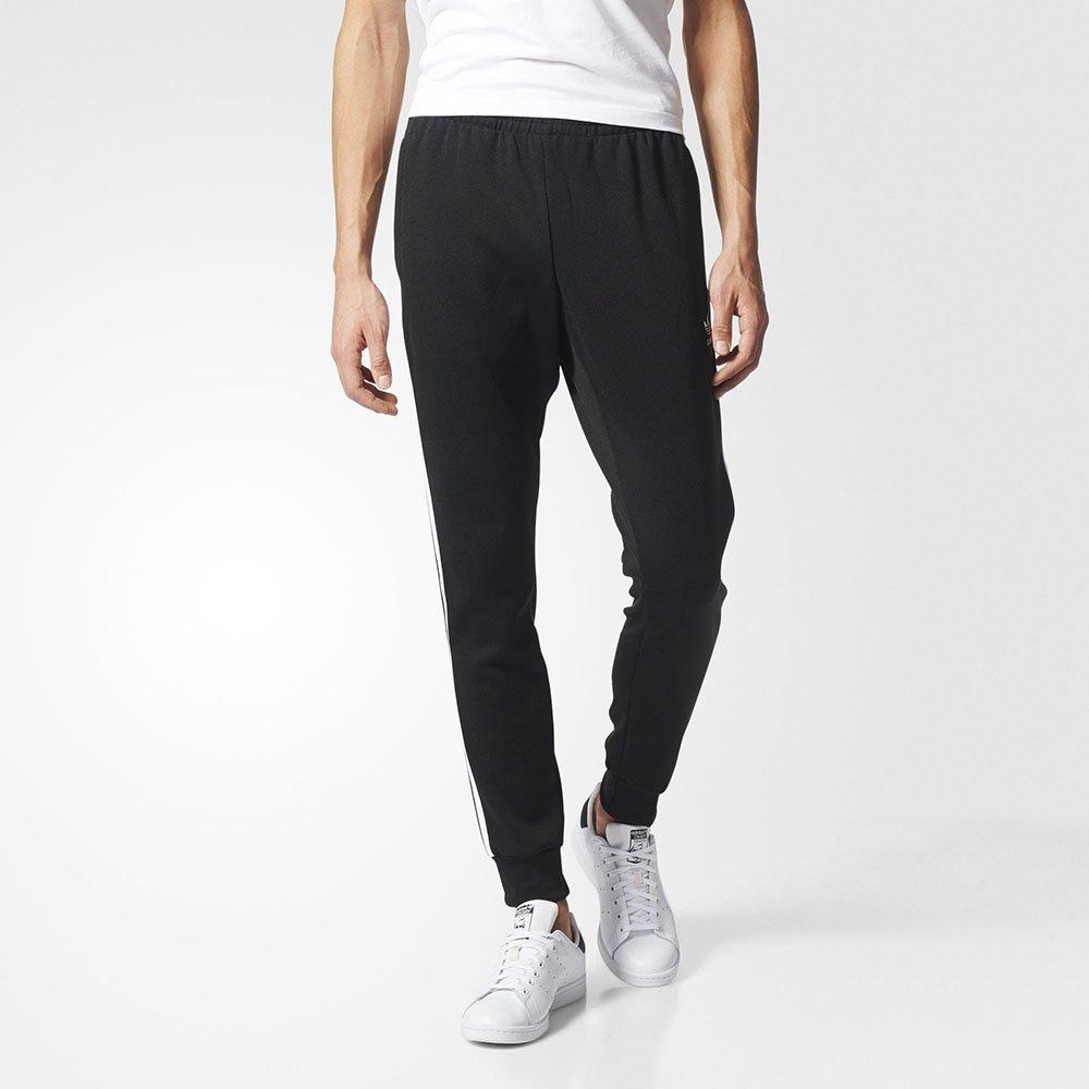 fe7585538 Calça Adidas SST Cuffed AJ6960 - Preto/Branco - Atitude Esportes -As ...