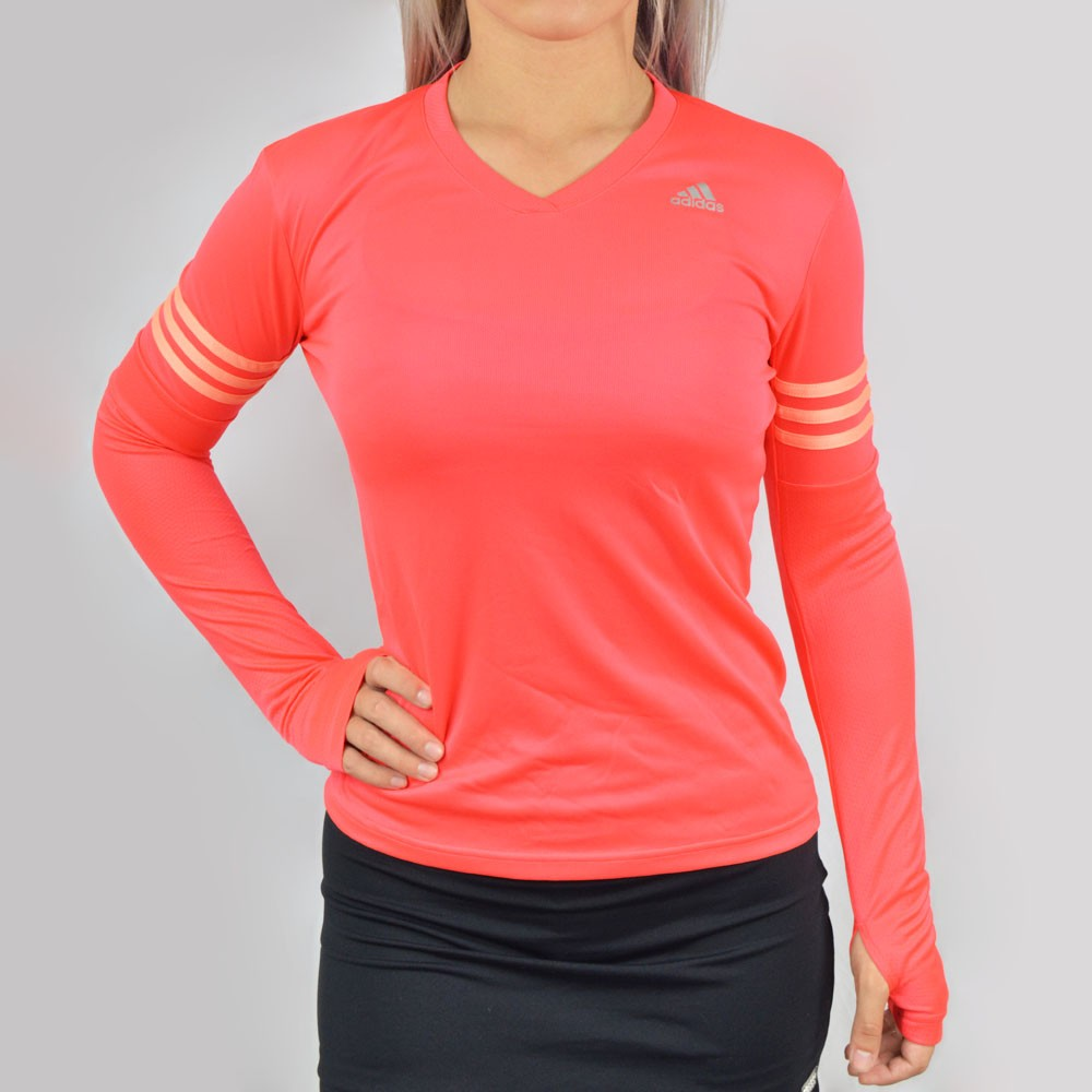 e4c321b4d207e Camiseta Manga Longa Adidas Response ML