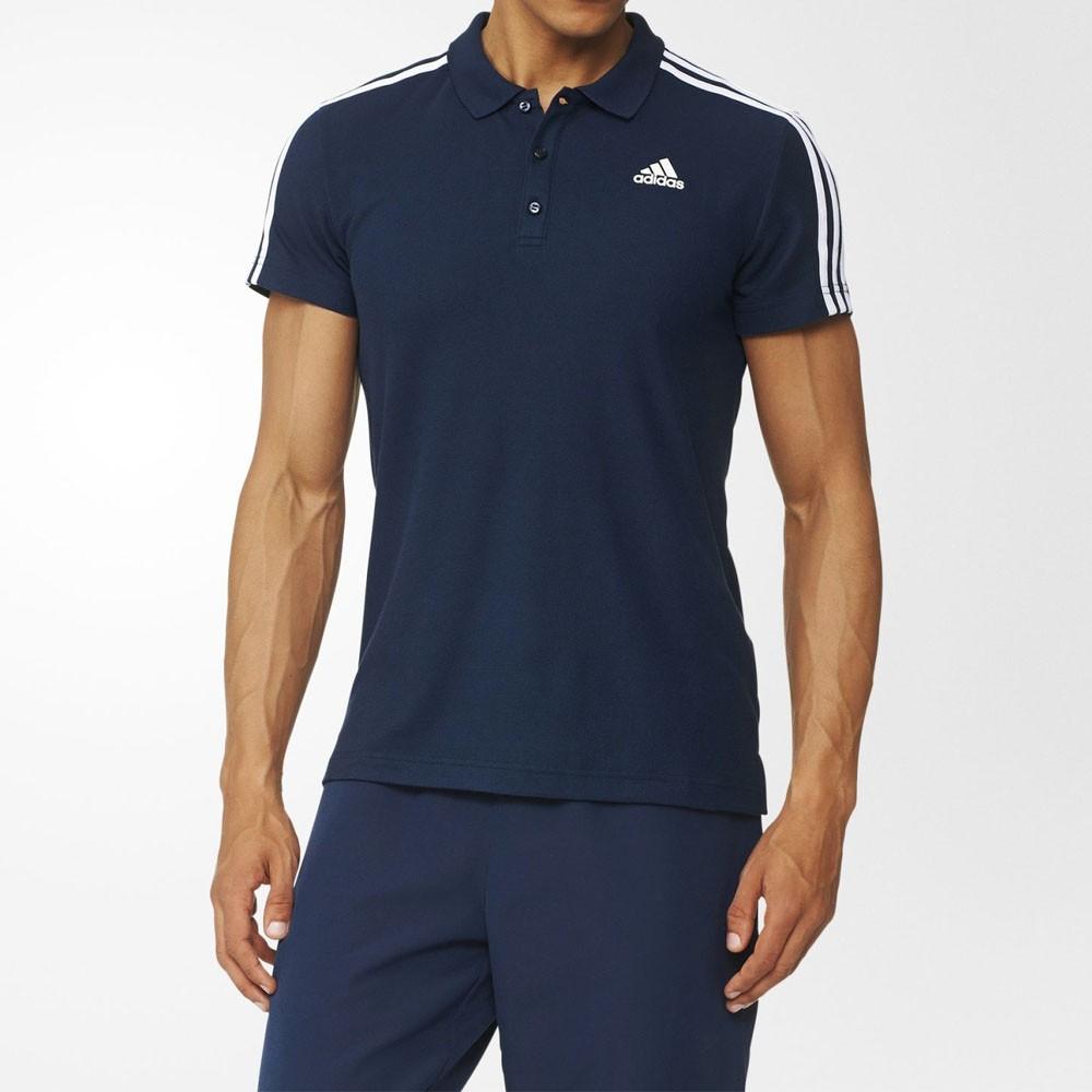 491c902fcc Camisa Polo Adidas Ess 3S