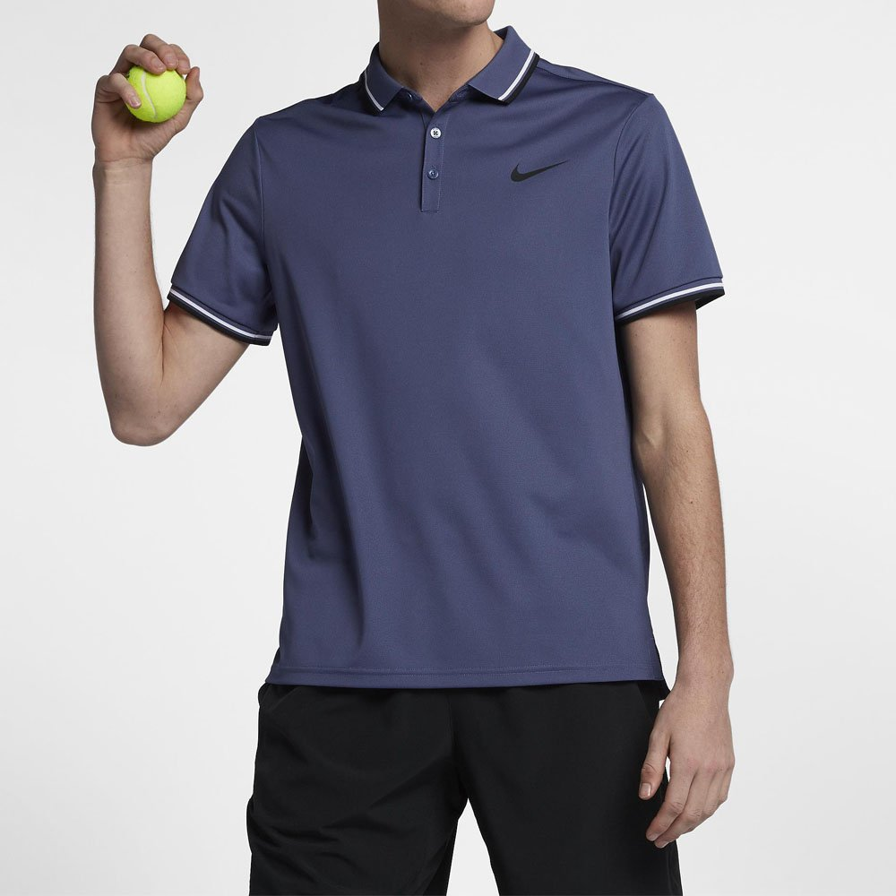 1443c962aa010 Camisa Polo Nike Court Dry Solid