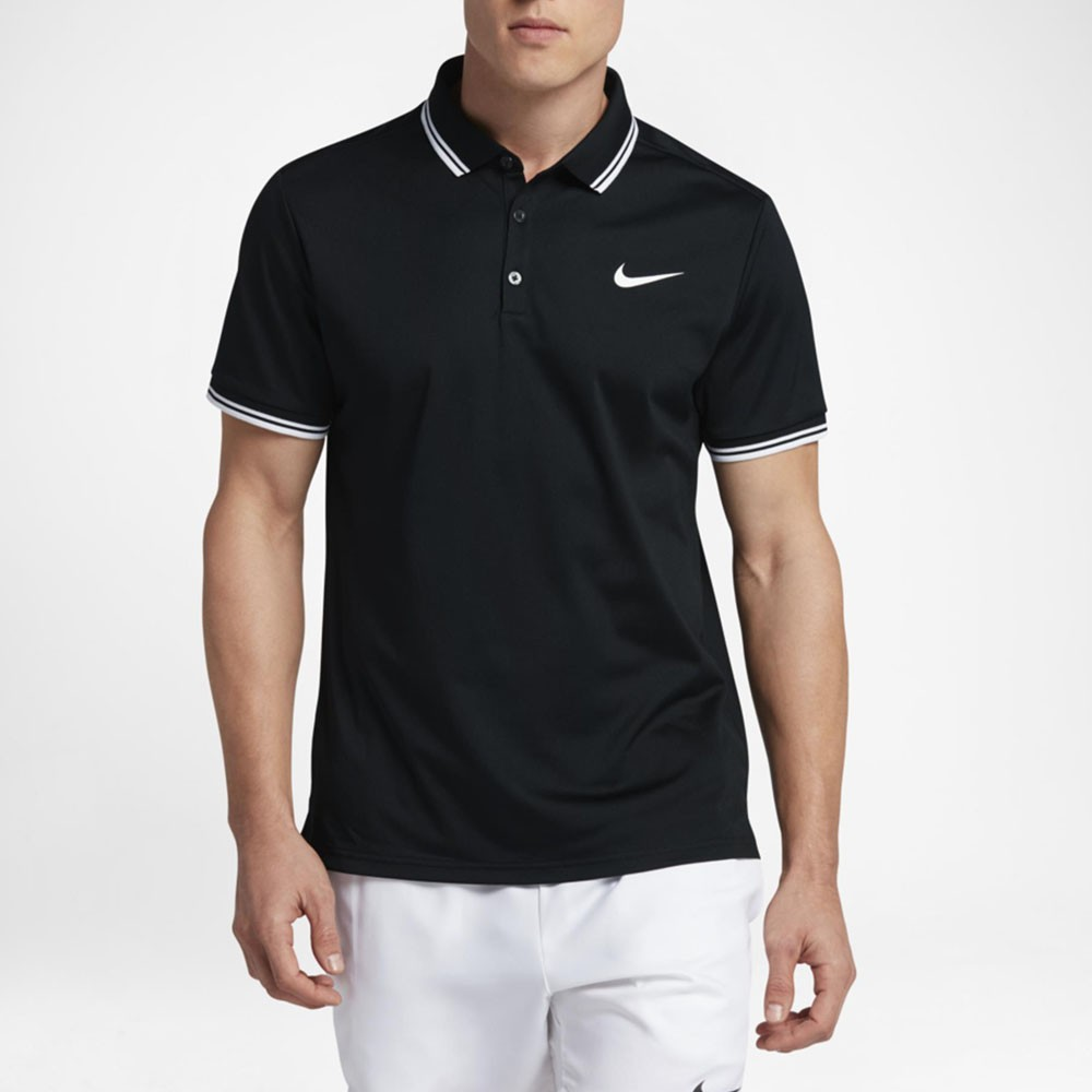 fd084a3124 Camisa Polo Nike Court Dry Solid