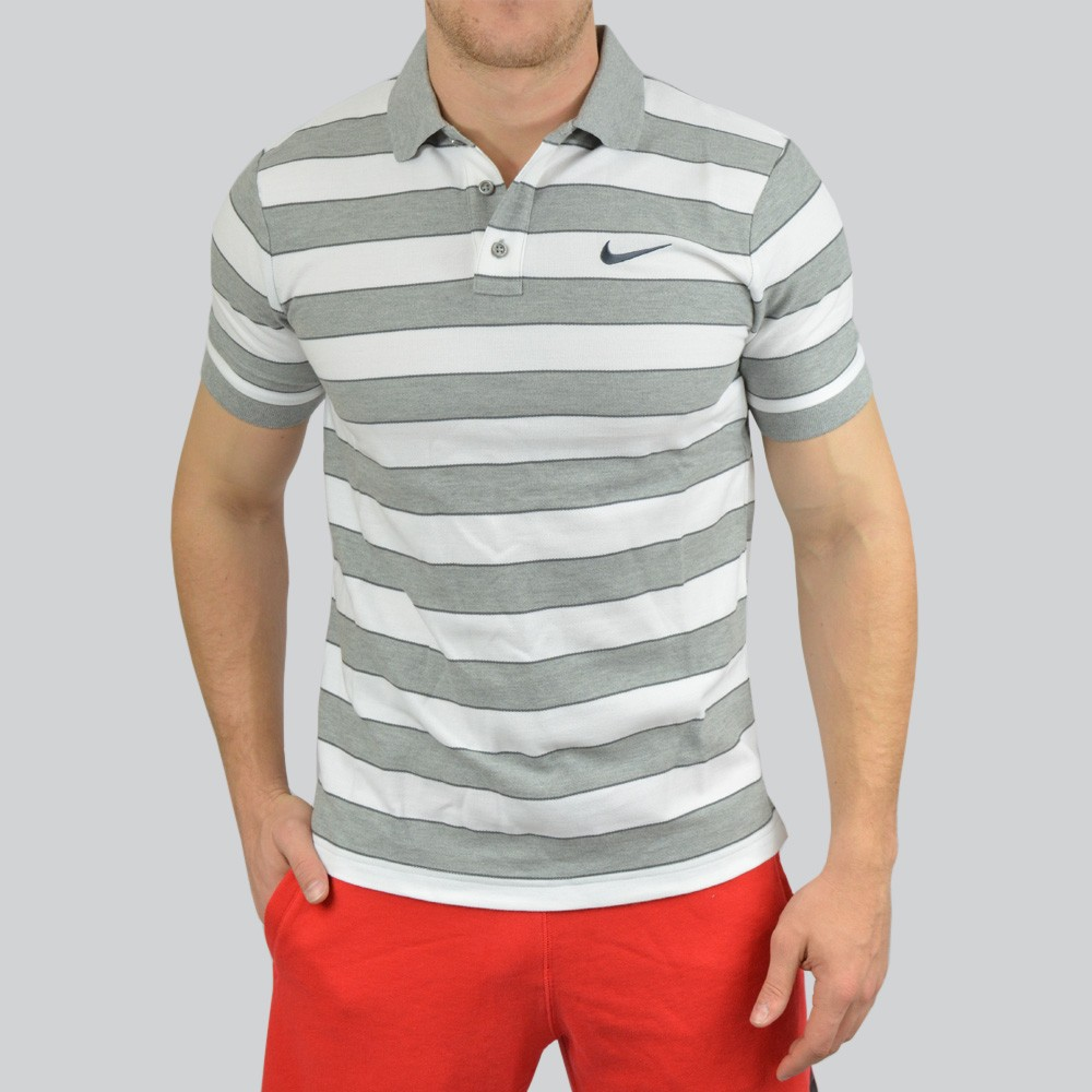 a0a3b32a93bb8 Camisa Polo Nike Match Stripe