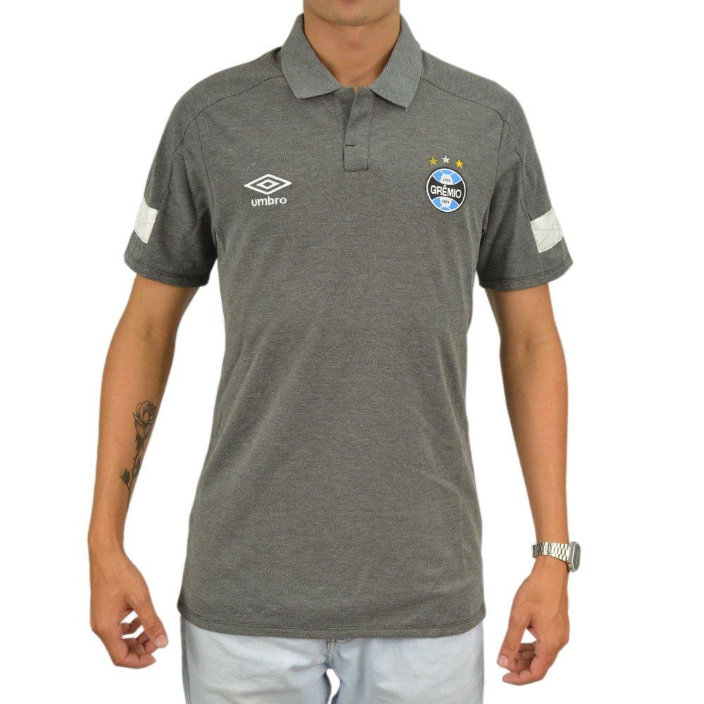 88931ec21e Camisa Polo Umbro Grêmio Viagem 2018 Original