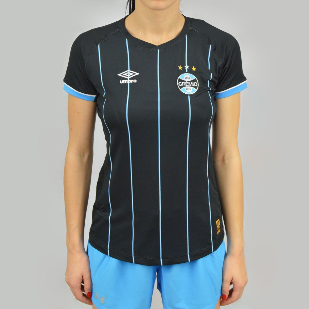 e578bb67d3e15 Baby Look Umbro Feminina Grêmio OF 4