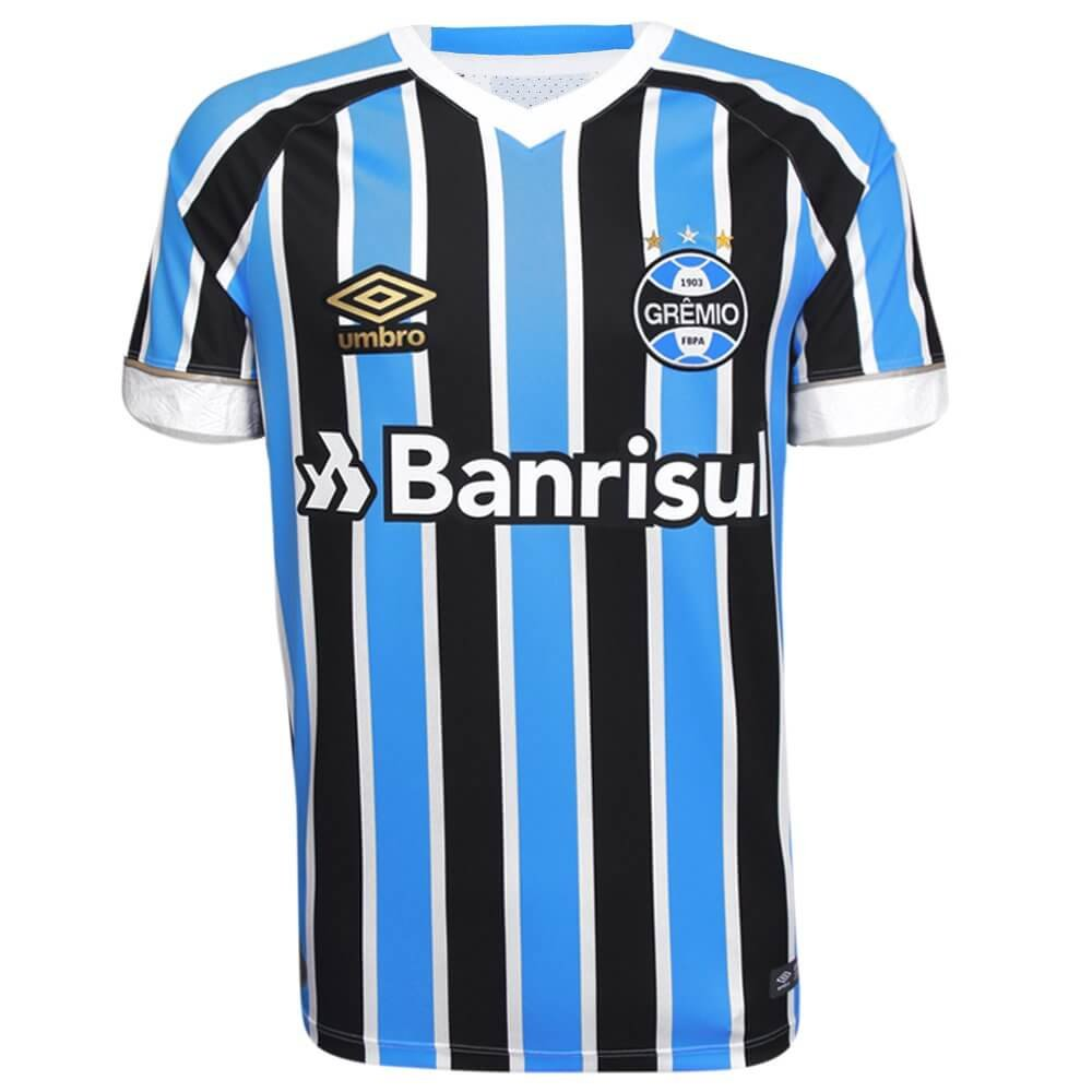 d7ad004047 Camisa Umbro Grêmio Fan Of 1 2018 S N Oficial