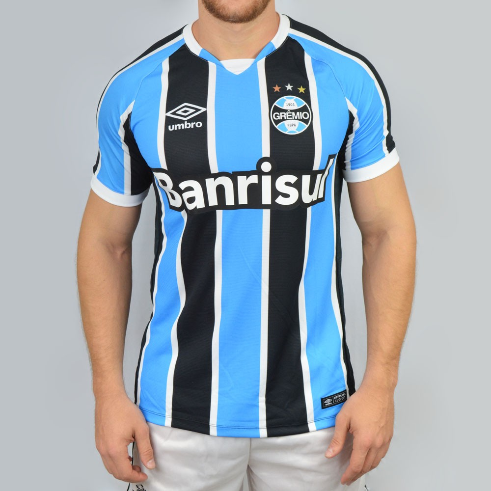 Camisa Umbro Grêmio OF 1 Game 2016 644527 - Tricolor - Atitude ... 84398ccf1fa02