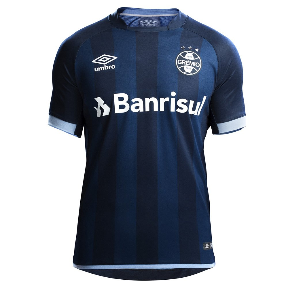 Camisa Umbro Grêmio OF 3 2017 C N f35553edcbe33