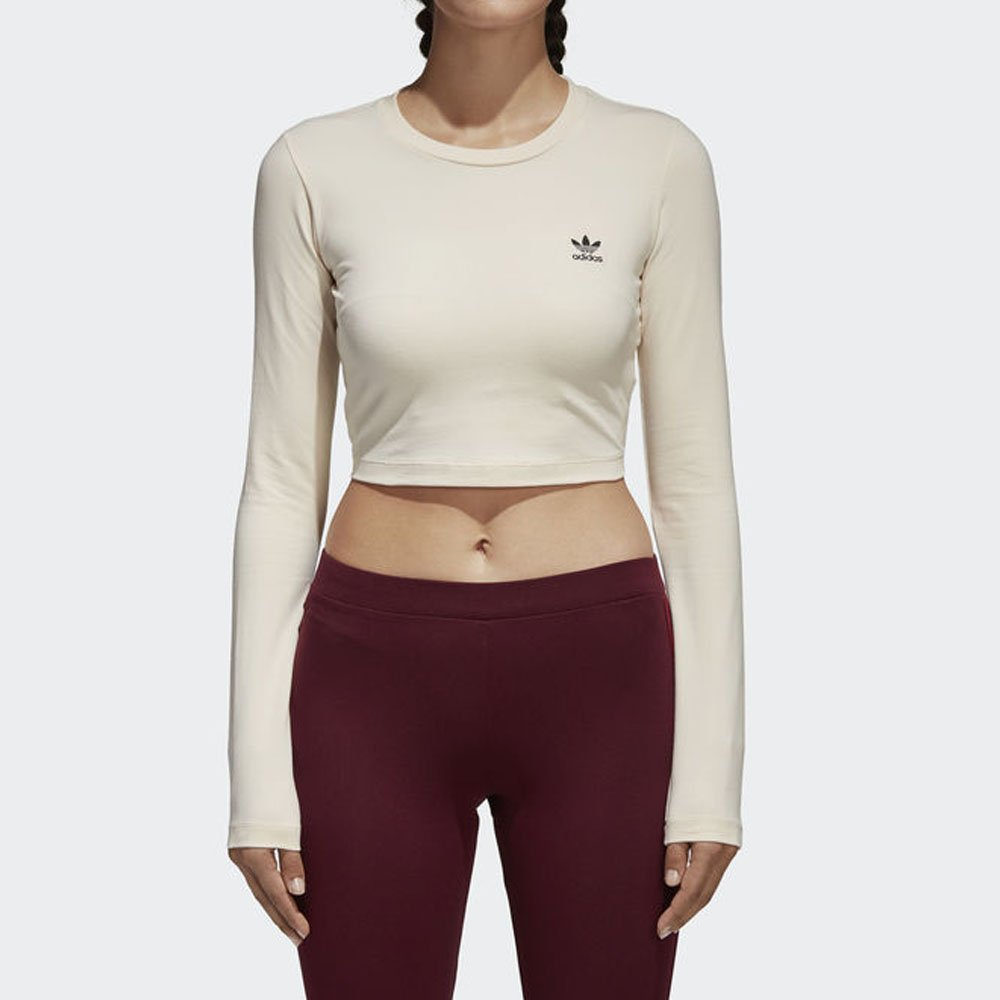 cd5bcfb6a5 Camiseta Adidas Cropped Styling Complements Feminina