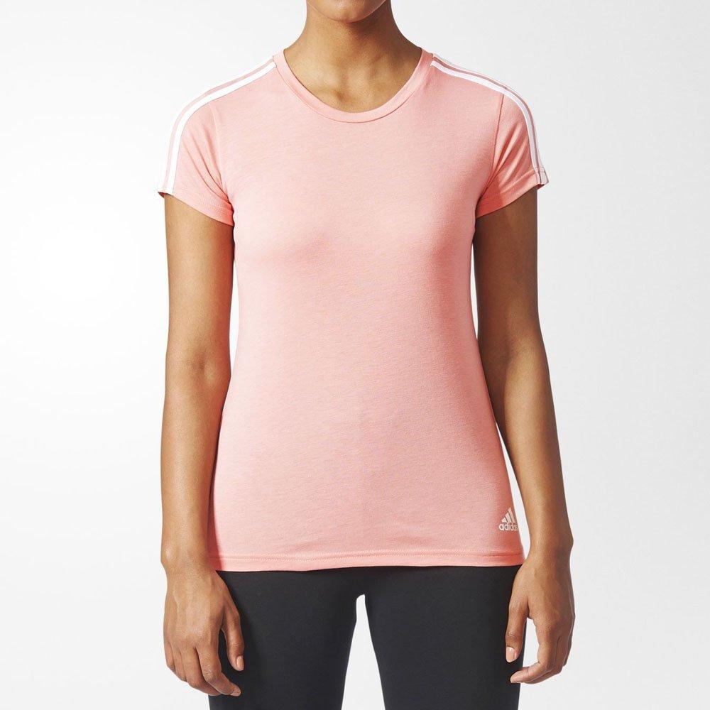 578b4ee51f8 Camiseta Adidas Essentials 3-Stripes Original Feminina