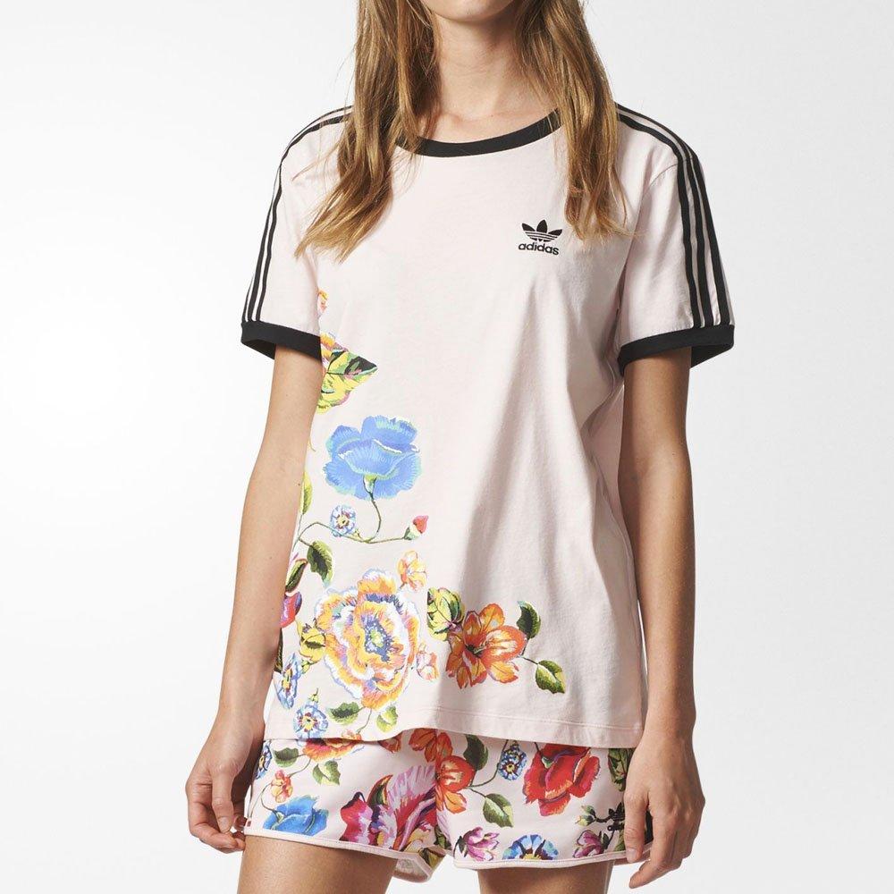 acf50d4d417 Camiseta Adidas Floral L Farm Original