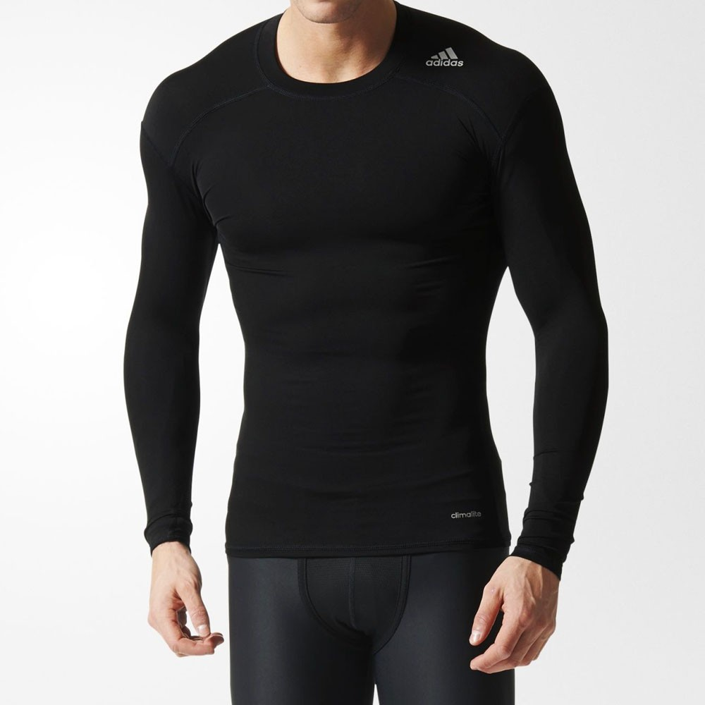 dfc47143a413f Camiseta Adidas Techfit Base Manga Longa
