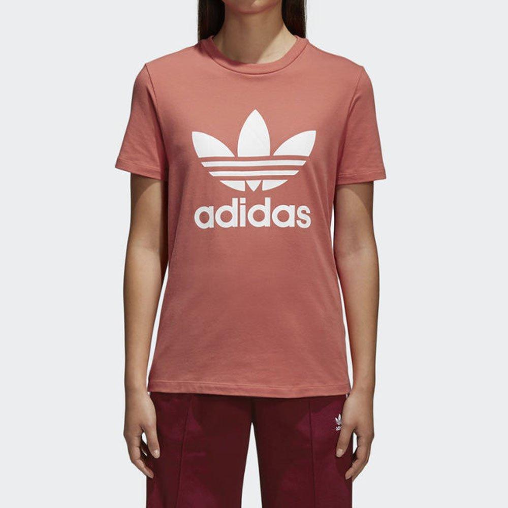 e6d502bb4 Camiseta Adidas Trefoil Original Feminina